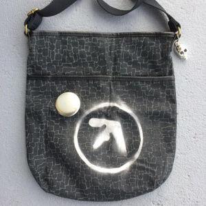 AFX Aphex Twin Synth Crossbody Bag Skull Charm
